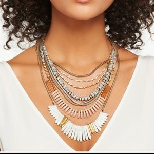 Stella & Dot Ezra multi stand necklace